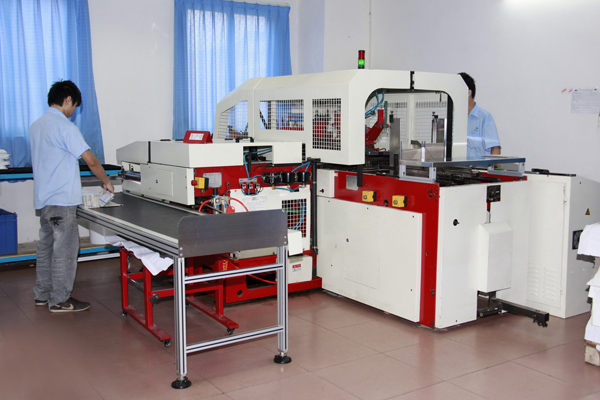 DHP Factory machinery